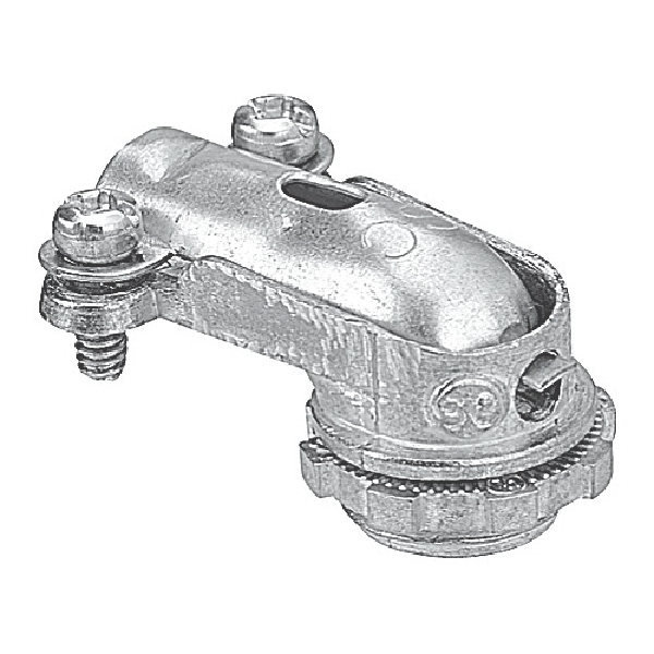 Picture of Iberville 2214M1 Elbow Connector Threaded, Zinc Alloy