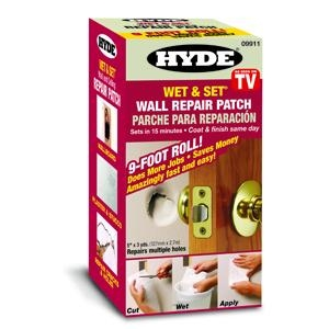 Picture of HYDE Wet and Set 09911 Repair Patch, White