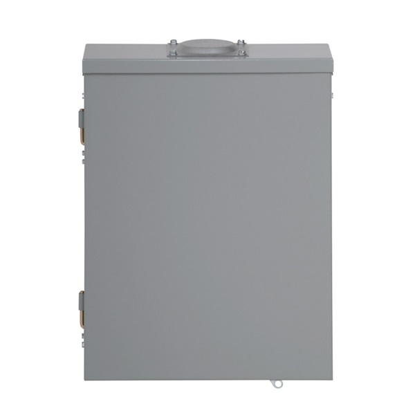 Picture of Cutler-Hammer BR Series BR1224L200R Load Center, 200 A, 12-Space, 24-Circuit, Main Lug, NEMA 3R Enclosure