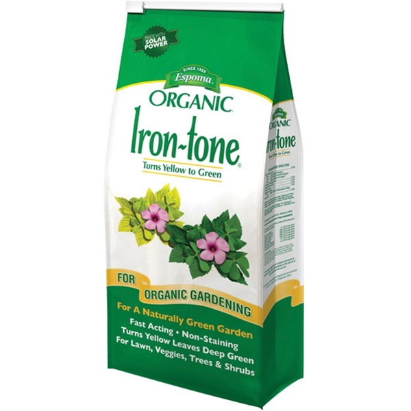 Picture of ESPOMA Iron-Tone IT5 Plant Food, Liquid, 5 lb Package, Bag
