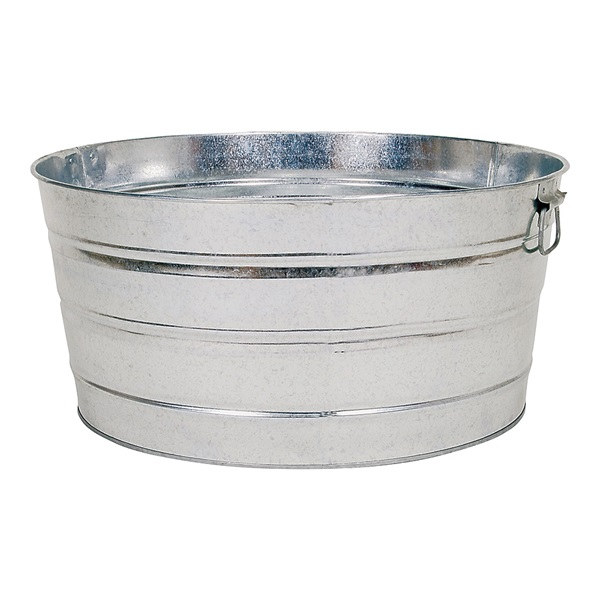 Picture of Behrens 3GS Wash Tub, 17 gal Capacity, Galvanized Steel