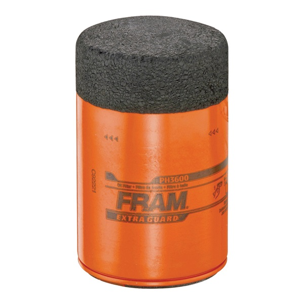 Picture of FRAM PH3600 Full-Flow Lube Oil Filter, 3/4- 16 Connection, Threaded, Cellulose, Synthetic Glass Filter Media