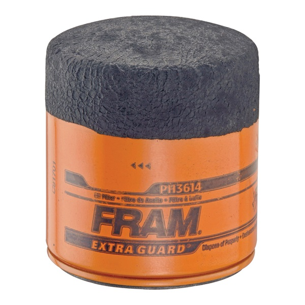 Picture of FRAM PH3614 Full-Flow Lube Oil Filter, 3/4- 16 Connection, Threaded, Cellulose, Synthetic Glass Filter Media