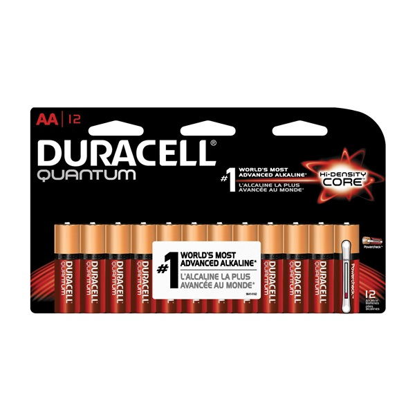 Picture of DURACELL 66233 Alkaline Battery, AA Battery
