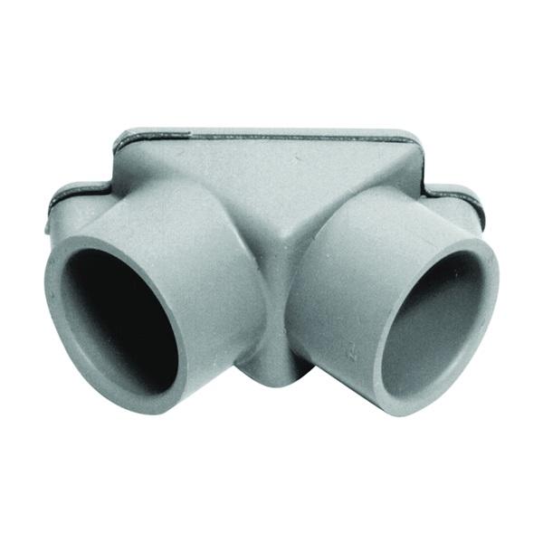 Picture of Carlon E990DER-CAR Access Pull Elbow, PVC, Gray