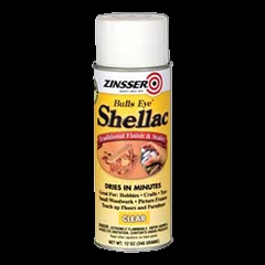 Picture of ZINSSER Bulls Eye 00408 Shellac, Mid-Tone, Clear, Liquid, 12 oz, Can