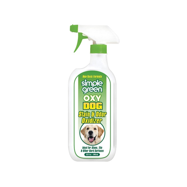 Picture of Simple Green 2010000615303 Dog Stain and Odor Oxidizer, Liquid, Citrus, 32 oz Package