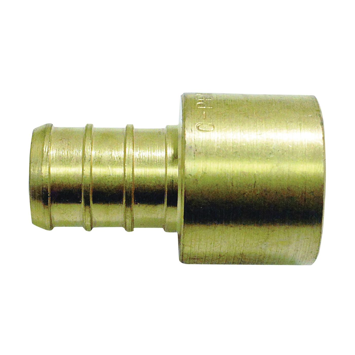 Picture of Apollo APXFS1212 Pipe Adapter, 1/2 in, PEX x Female Solder, Brass, 200 psi Pressure