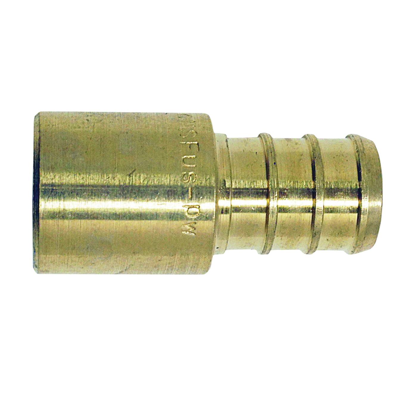 Picture of Apollo APXMS1212 Pipe Adapter, 1/2 in, PEX x Male Solder, Brass, 200 psi Pressure