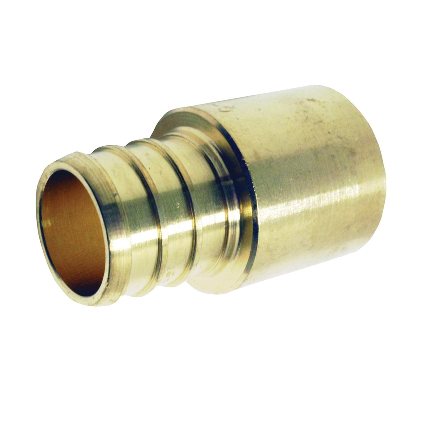 Picture of Apollo APXMS3434 Pipe Adapter, 3/4 in, PEX x Male Solder, Brass, 200 psi Pressure