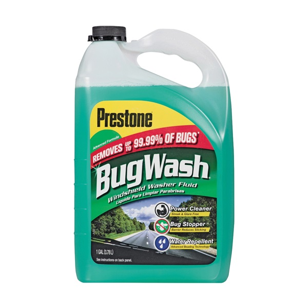 Picture of Prestone AS657 Windshield Washer Fluid Green, 1 gal Package, Bottle