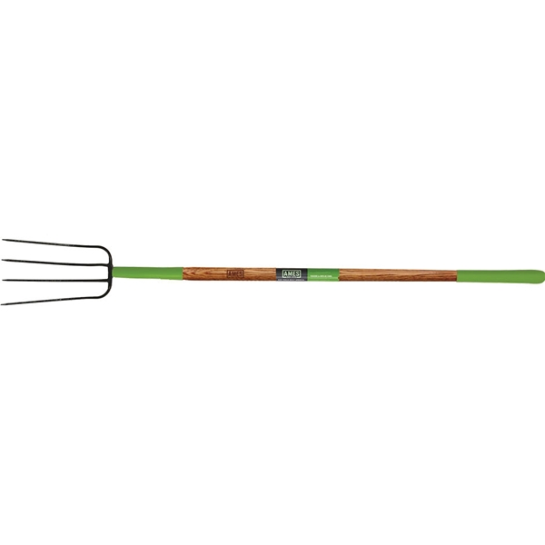 Picture of AMES 2826700 Manure Fork, Steel Tine, Wood Handle, 61 in L Handle