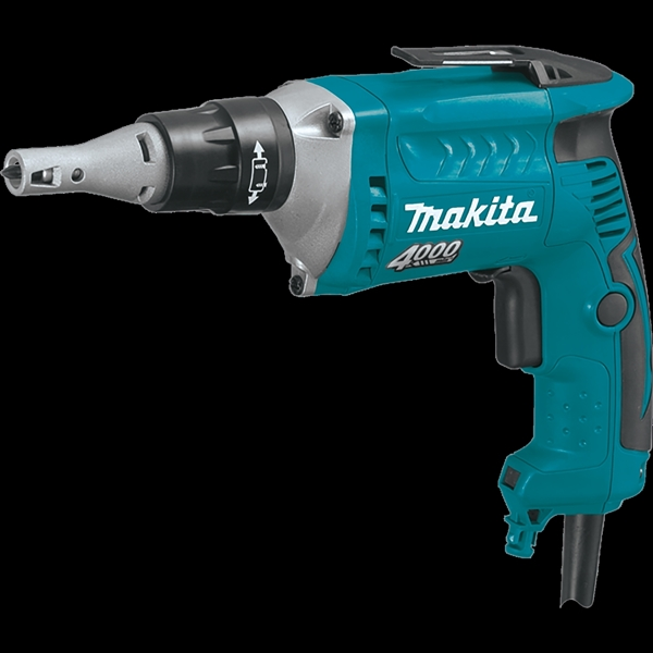 Picture of Makita FS4200 Screwdriver, 120 V, 1/4 in Chuck, Hexagonal, Keyless Chuck, 0 to 4000 rpm Speed, 88-1/2 ft-lb