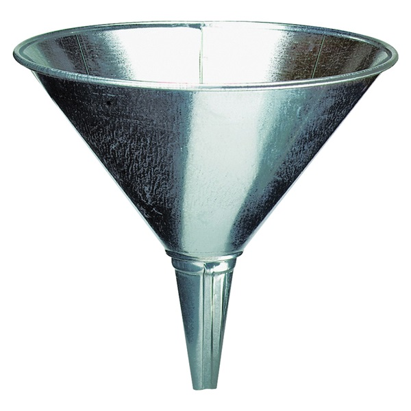 Picture of Amflo 75-003 Funnel, 2 qt Capacity, Steel, 8 in H