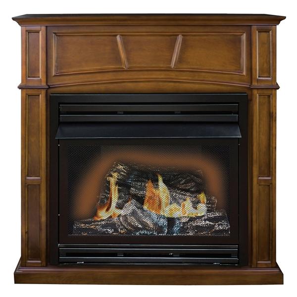 Picture of Kozy World Savannah GFD3280R Gas Fireplace, 46 in OAW, 16-1/4 in OAD, 45 in OAH, 32000 Btu Heating