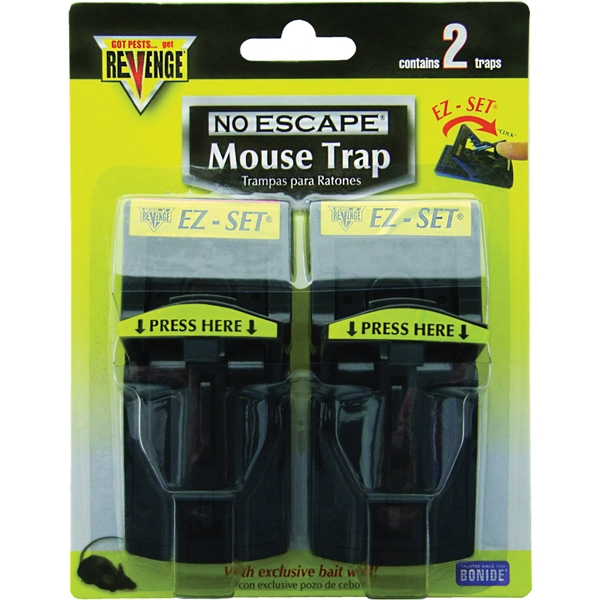 Picture of Bonide 47080 Mouse Trap, 1-3/4 in W, 2-1/4 in H
