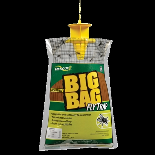 Picture of RESCUE Big Bag BFTD-DB12 Fly Trap, Solid, Musty
