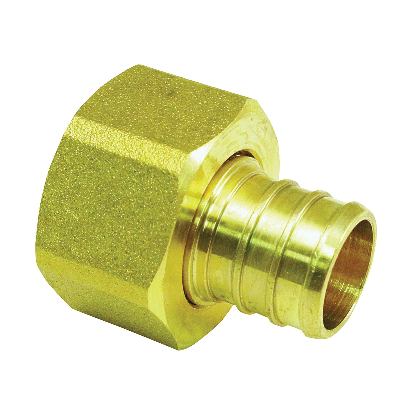 Picture of Apollo APXFF3434S Hose Adapter, 3/4 in, Barb x FPT, Brass, 200 psi Pressure