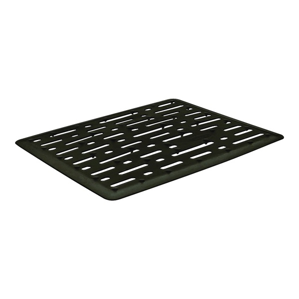 Picture of Rubbermaid 1G1706BLA Sink Mat, 12.68 in L, 10.71 in W, 0.35 in Thick, Black