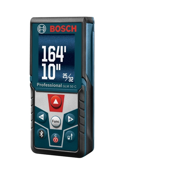 Picture of Bosch GLM50C Laser Measurer, 165 ft, Upgraded Backlit Color Display