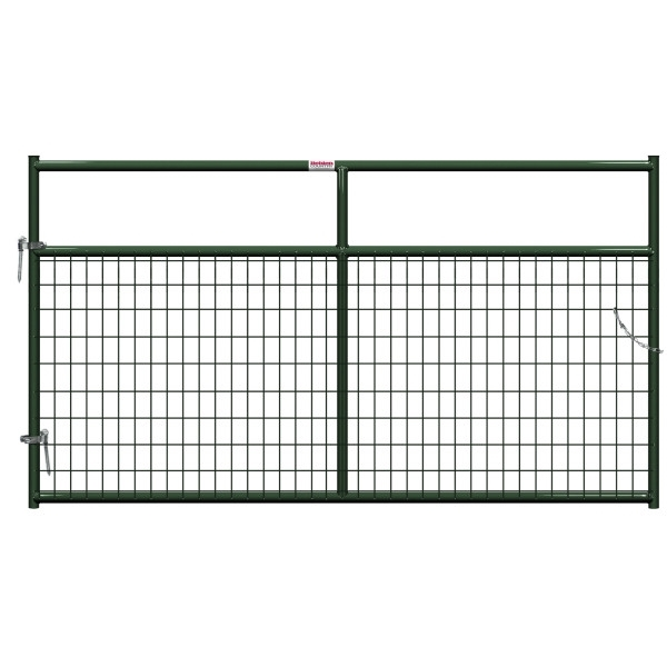 Picture of Behlen Country 40132082 Wire-Filled Gate, 96 in W Gate, 50 in H Gate, 6 ga Mesh Wire, 2 x 4 in Mesh, Green