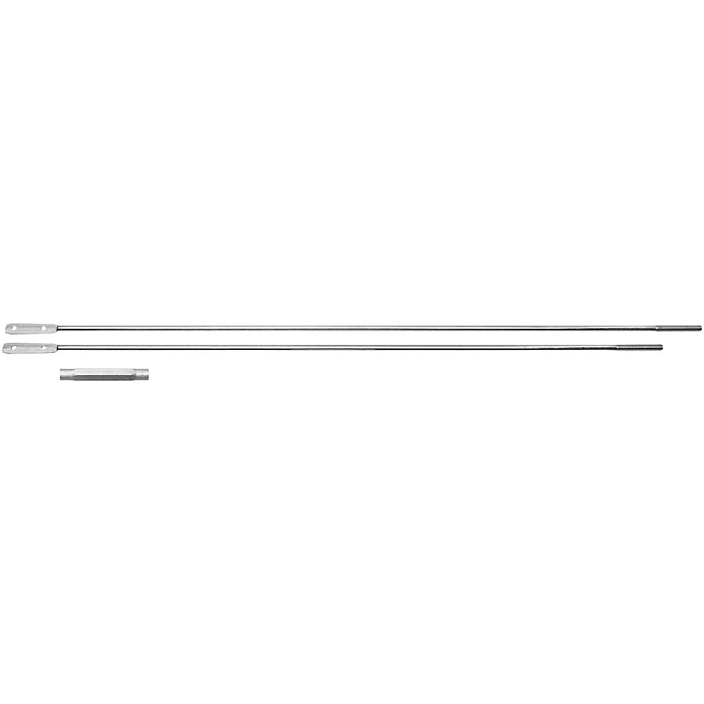 Picture of National Hardware V196 Series N117-580 Turnbuckle, Aluminum