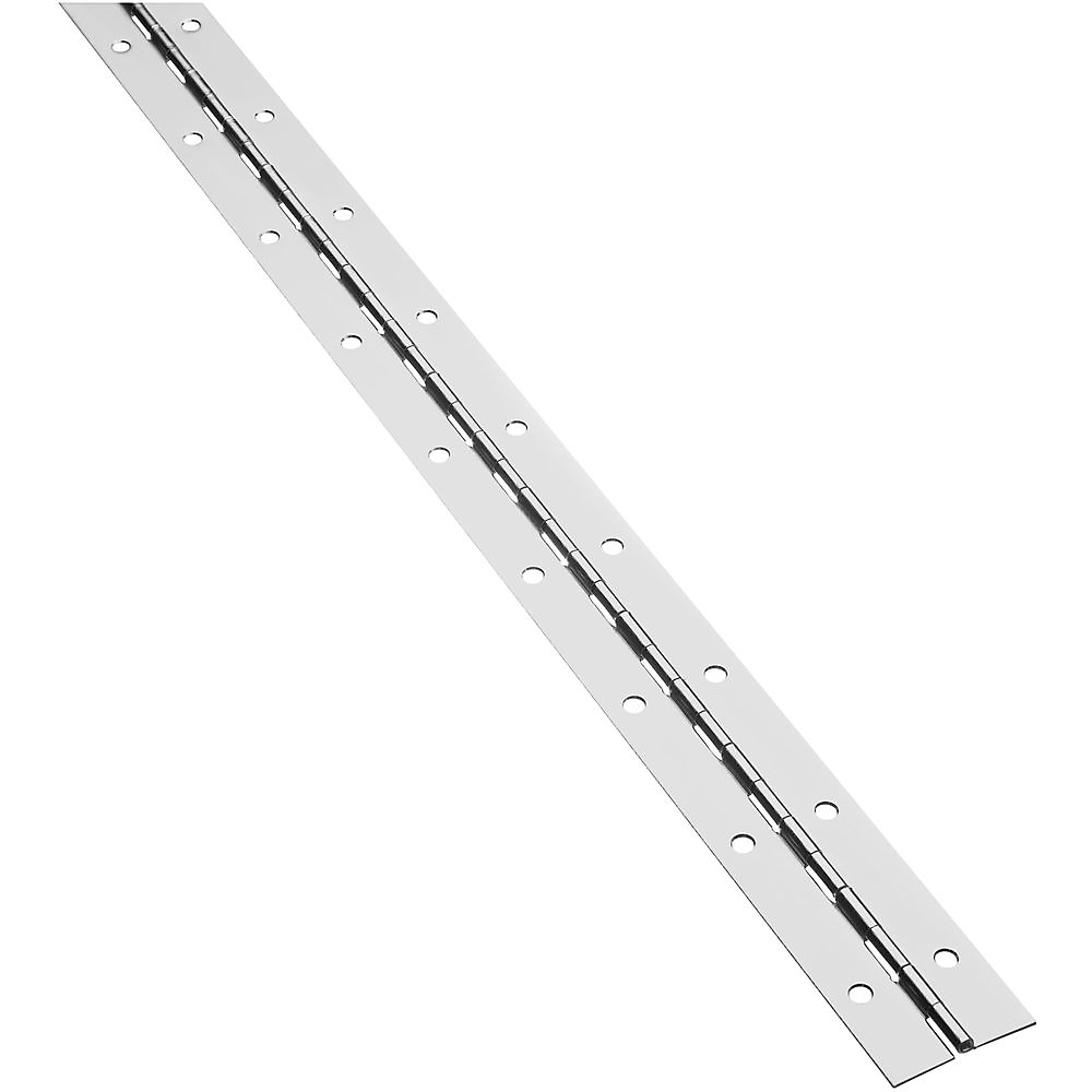 Picture of National Hardware V570 Series N148-320 Continuous Hinge, Nickel