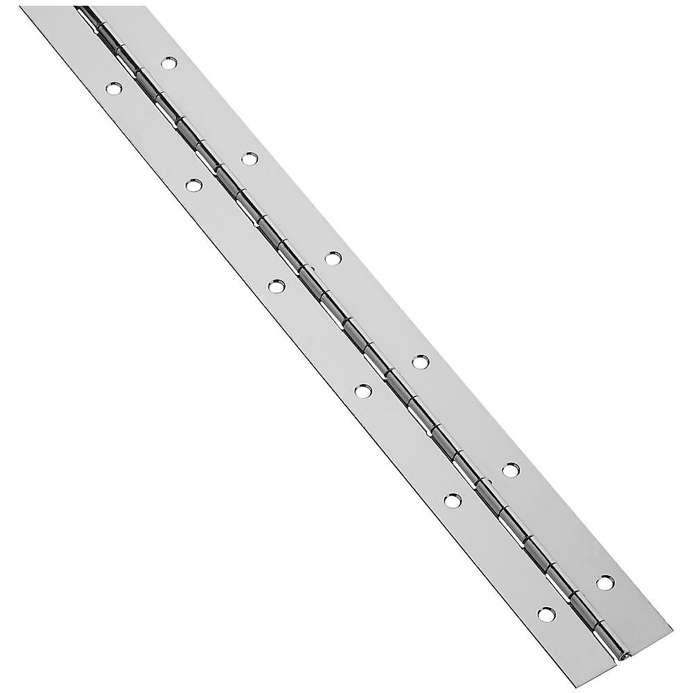 Picture of National Hardware V570 Series N148-486 Continuous Hinge, Nickel