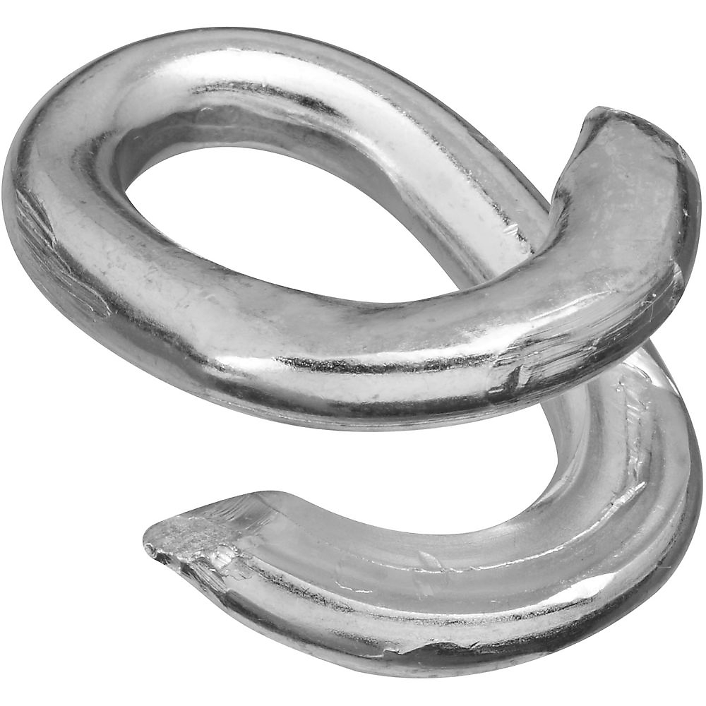 Picture of National Hardware 3152BC Series N223-107 Lap Link, 5/16 in Trade, 725 lb Working Load, Steel, Zinc