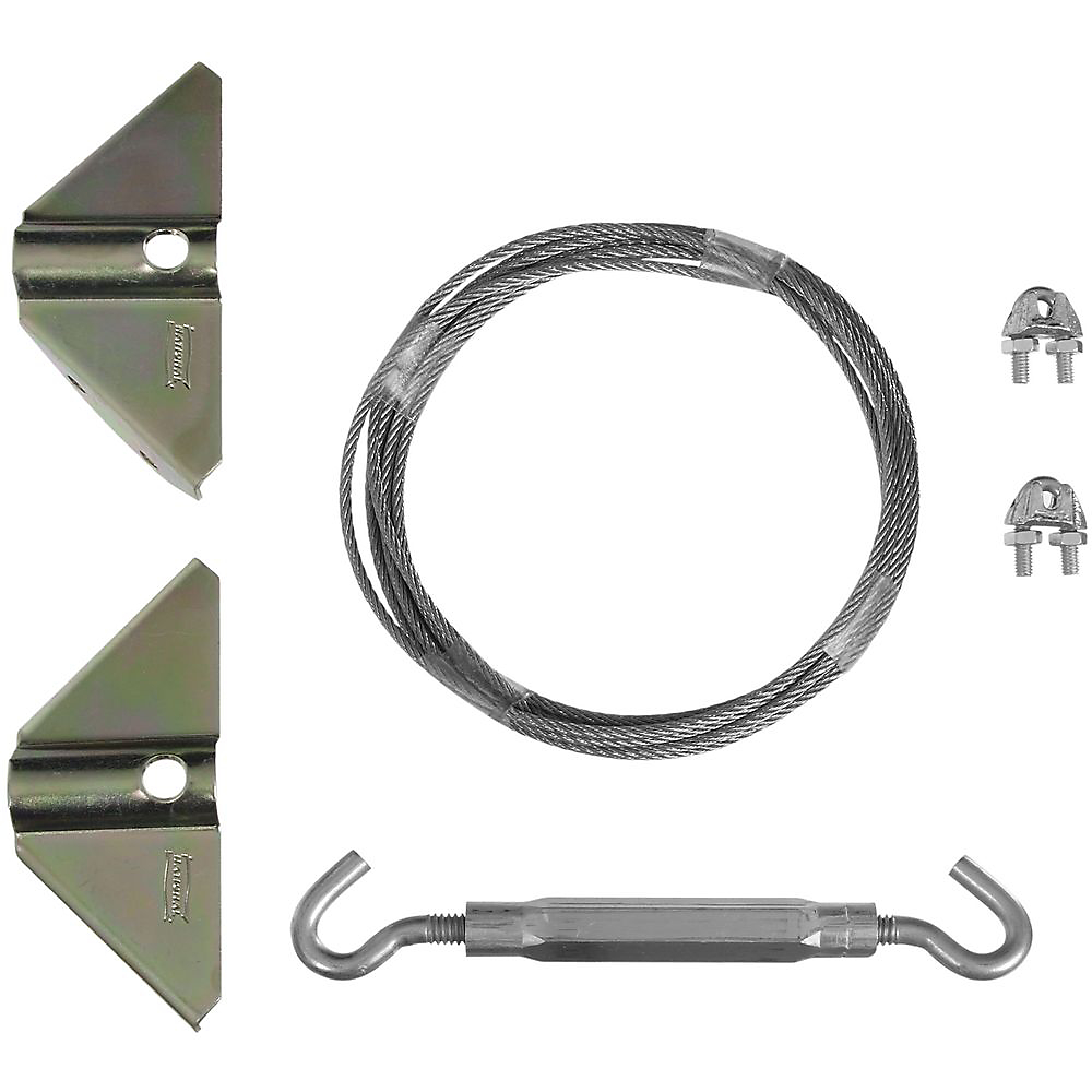 Picture of National Hardware V852 Series N192-211 Gate Kit, Steel, Zinc, 1-Piece