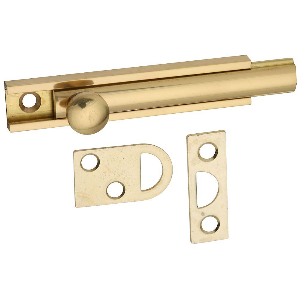 Picture of National Hardware V1922 Series N197-970 Flush Bolt, Solid Brass