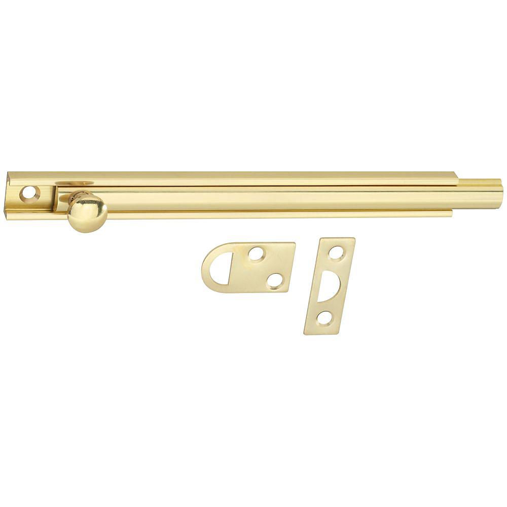 Picture of National Hardware V1922 Series N198-010 Flush Bolt, Brass