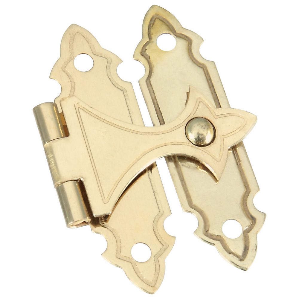 Picture of National Hardware V1840 Series N211-946 Door Catch, Brass, Solid Brass, Surface Mounting