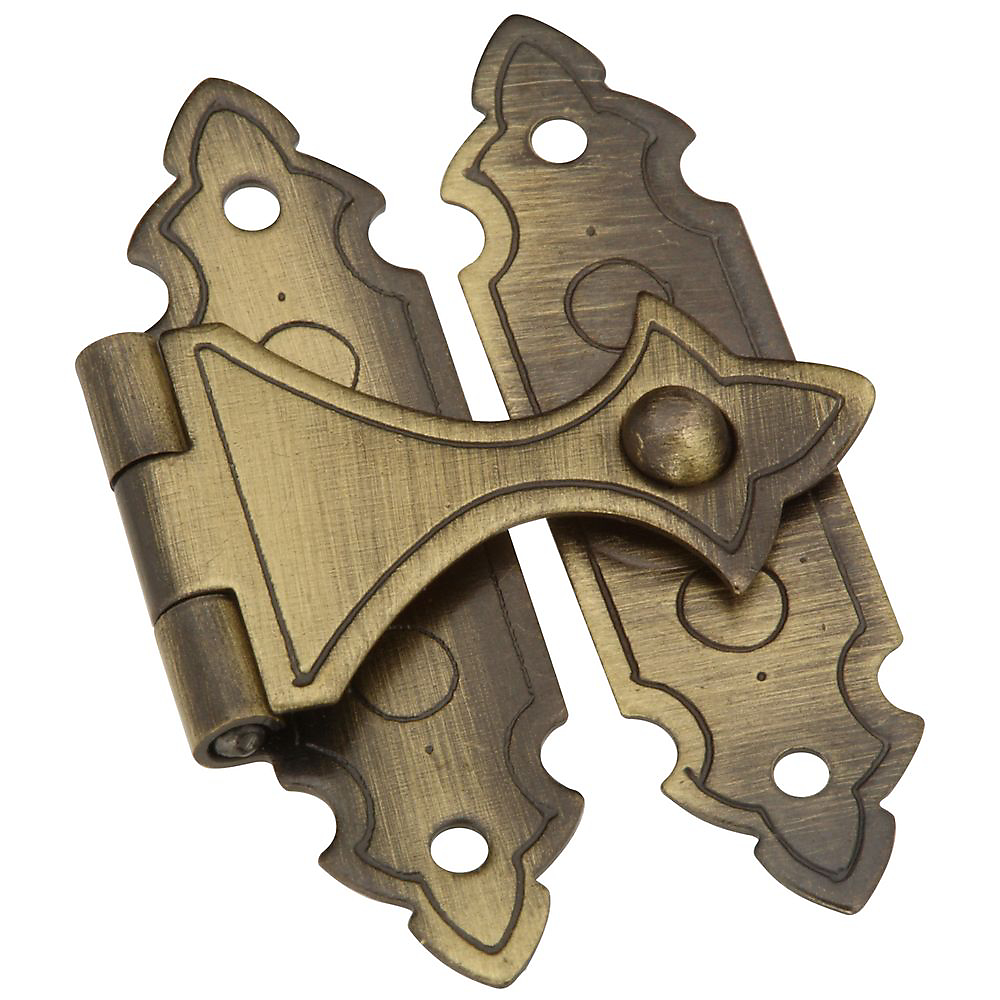 Picture of National Hardware V1840 Series N211-953 Door Catch, Solid Brass, Antique Brass