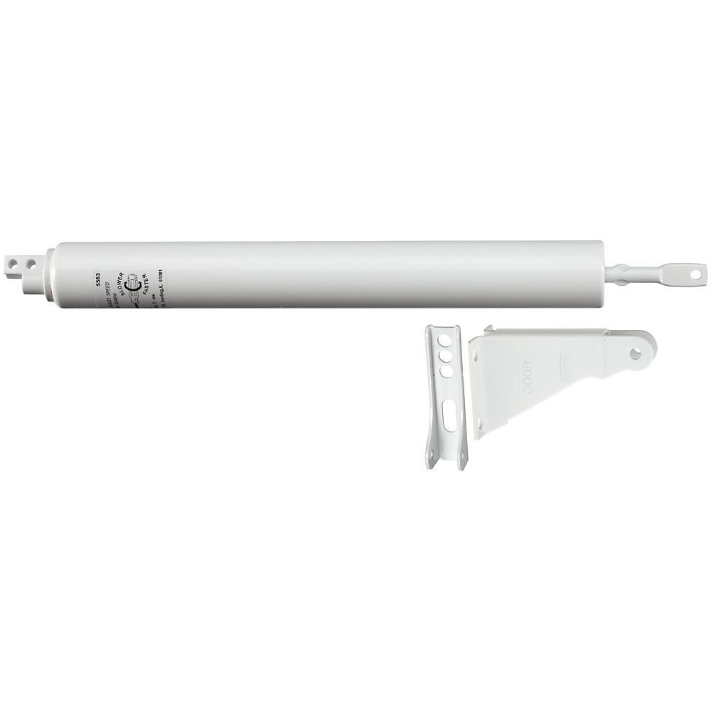 Picture of National Hardware V1337 Series N213-249 Door Closer, 5/16 in Dia Rod, 11-1/8 in L, Steel, 90 deg Opening