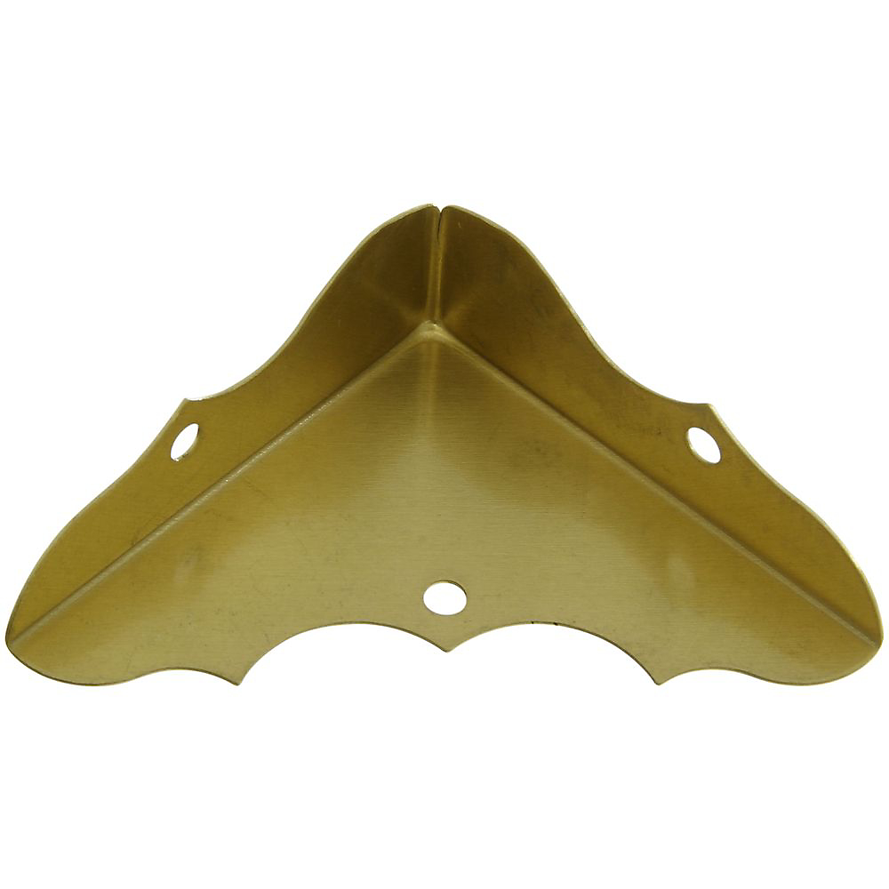Picture of National Hardware V1851 Series N213-447 Corner Brace, 1-3/4 in L, Brass, 4, Pack