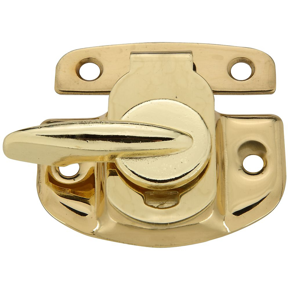 Picture of National Hardware V1977 Series N216-119 Sash Lock, Solid Brass, Solid Brass