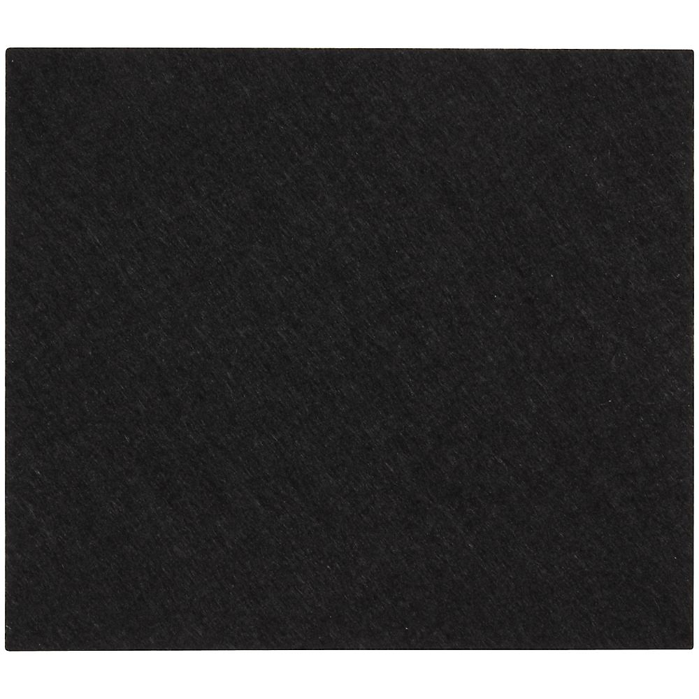 Picture of National Hardware V1716 Series N237-073 Protective Pad, Felt Cloth, Black, 4 in L, 3-1/2 in W, Square