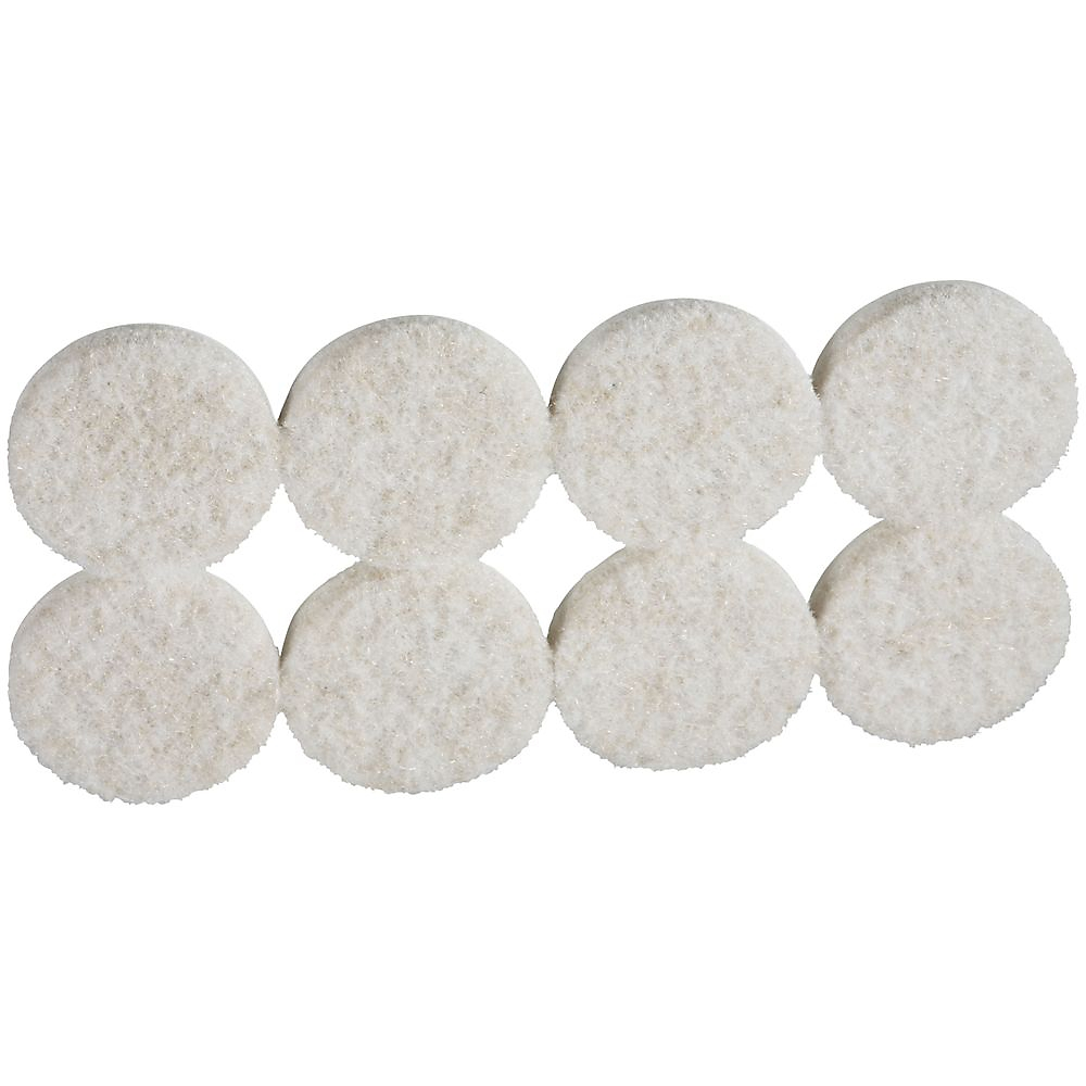 Picture of National Hardware V1719 Series N237-115 Protective Pad, Felt Cloth, 1-1/4 in Dia, Round