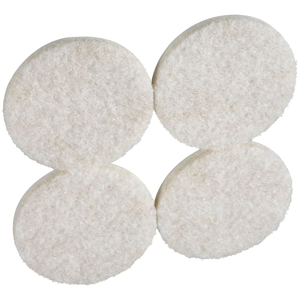 Picture of National Hardware V1719 Series N237-123 Protective Pad, Felt Cloth, 1-3/4 in Dia, Round