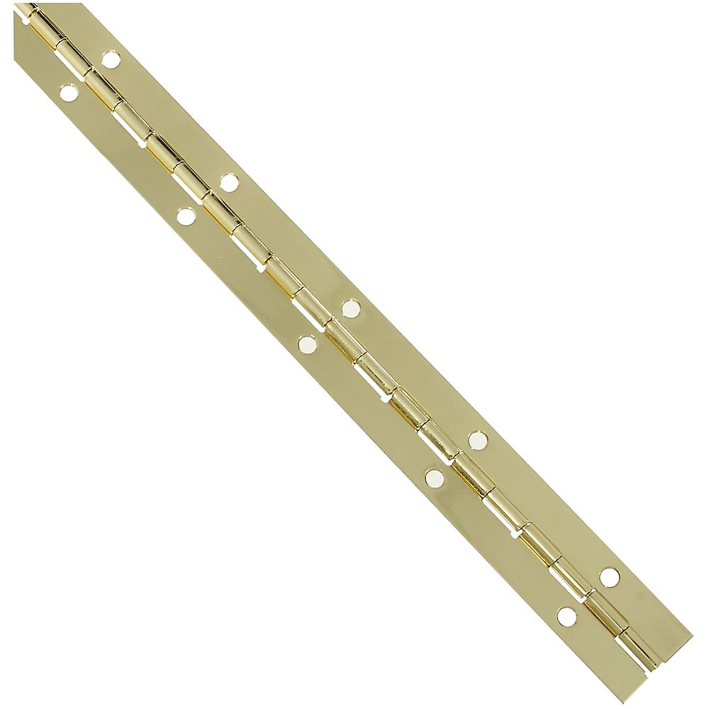 Picture of National Hardware V570 Series N265-355 Continuous Hinge, Brass