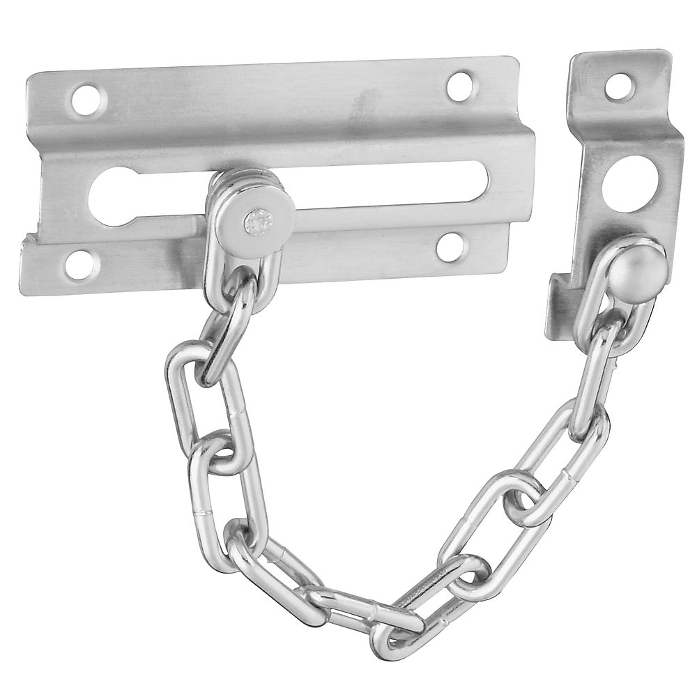 Picture of National Hardware V807 Series N274-407 Door Chain, Zinc, Satin Chrome