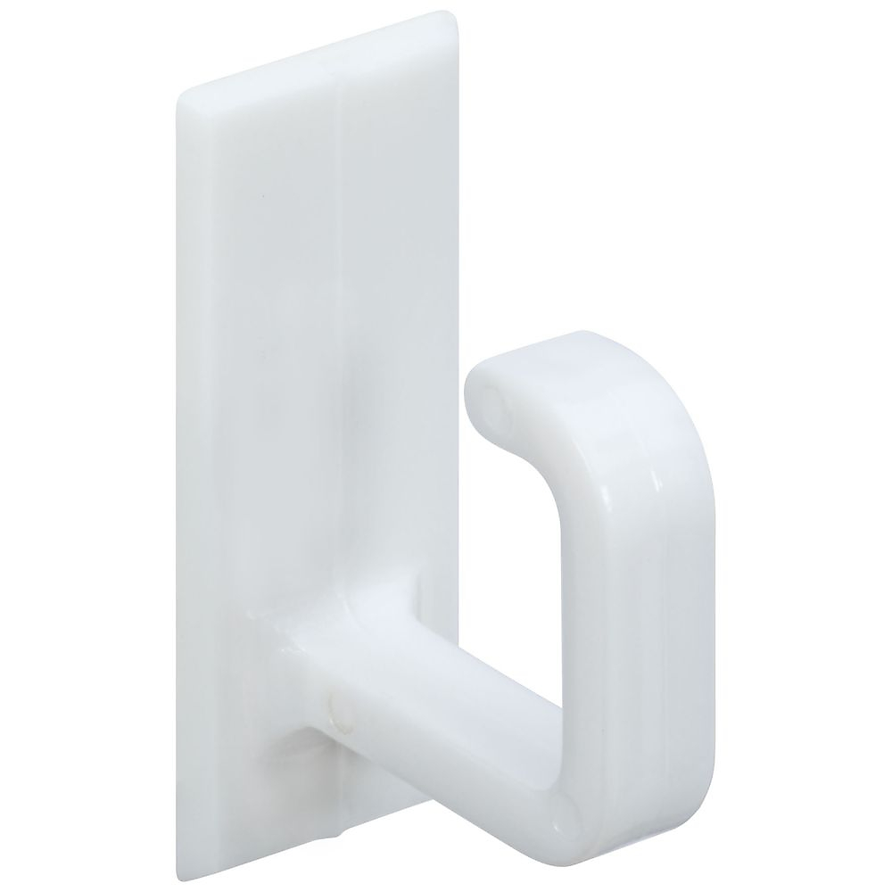 Picture of National Hardware V2700 Series N308-106 Cup Hook, 3 lb, Plastic, White, Pack