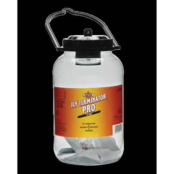 Picture of Starbar Fly Terminator 100520212 Fly Trap, Solid, Fish, 1 gal Package