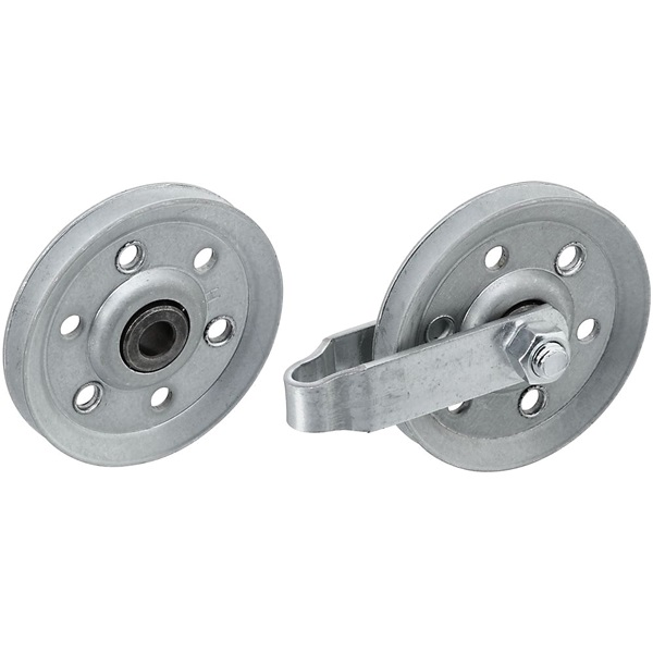 Picture of National Hardware V7634 Series N280-578 Door Pulley, 3 in Dia, Galvanized Steel