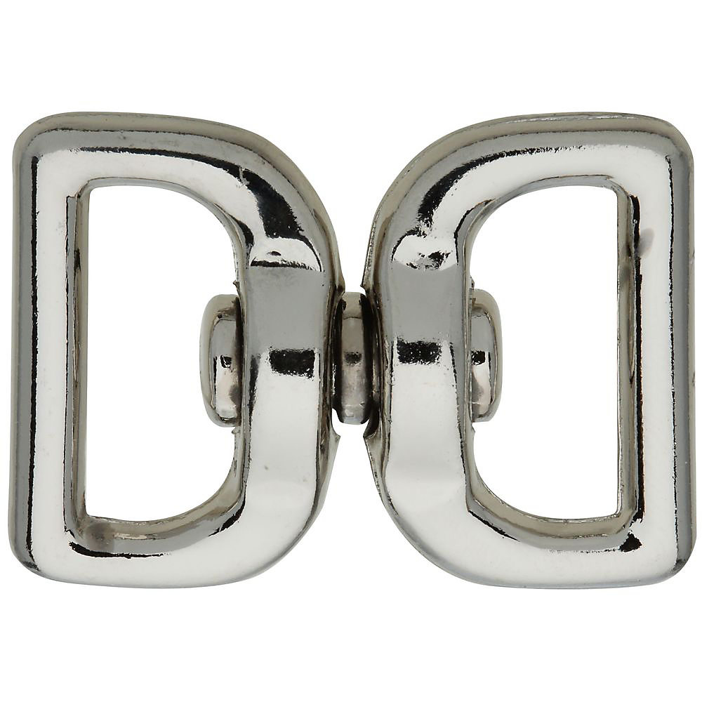 Picture of National Hardware 3138BC Series N222-950 Chain Swivel, 1 in Trade, 55 lb Working Load, Zinc, Nickel