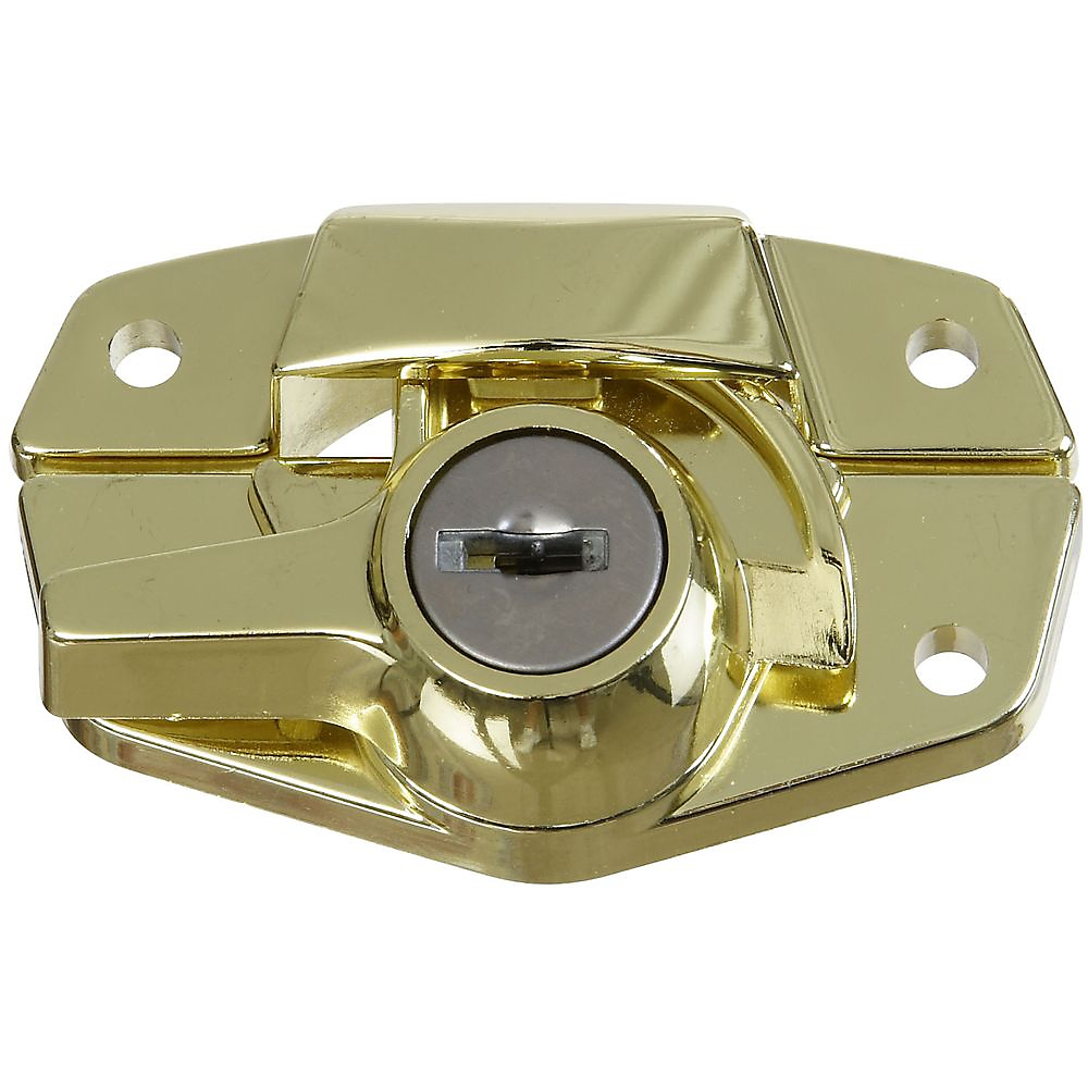 Picture of National Hardware VKA821 Series N183-723 Sash Lock, Zinc, Brass