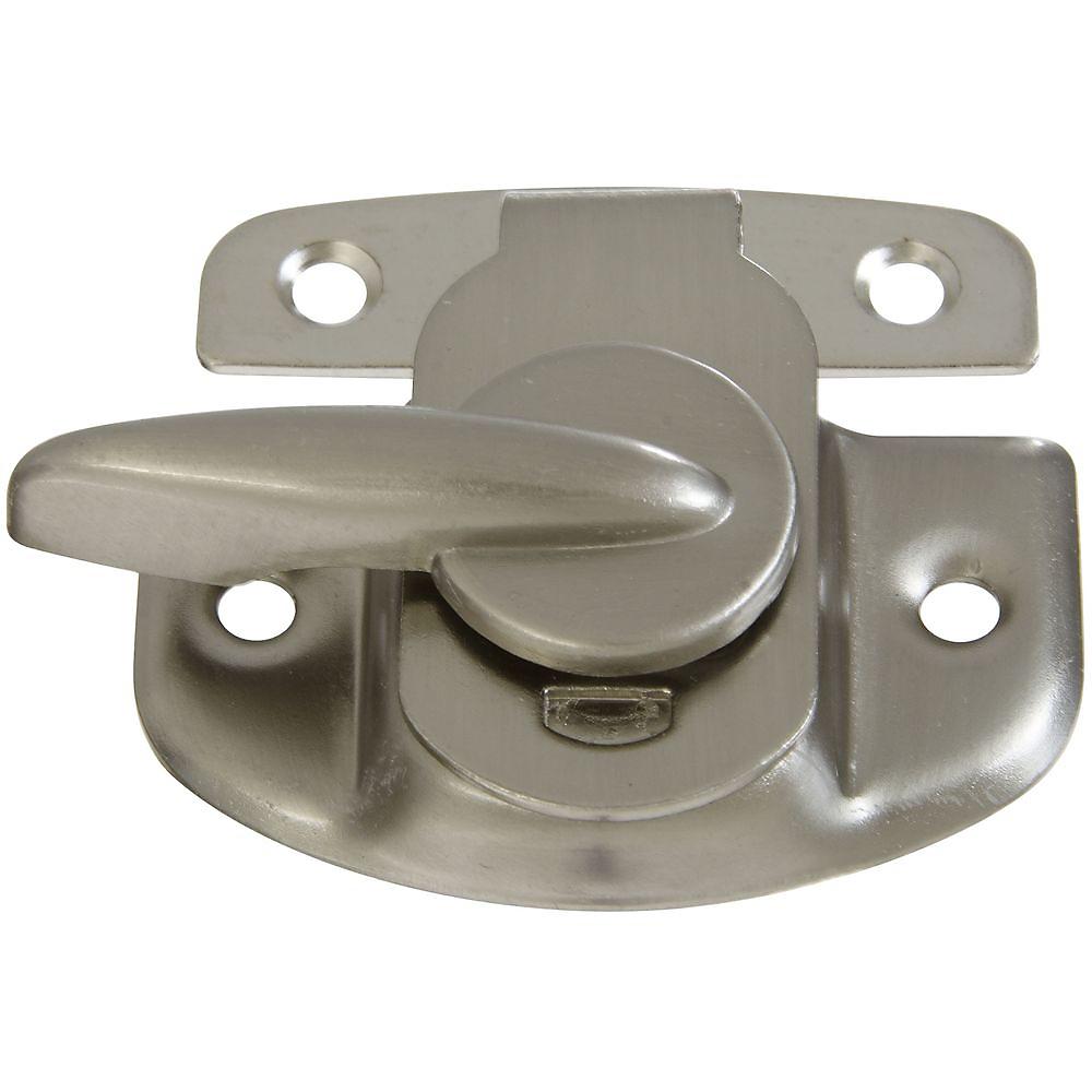 Picture of National Hardware V602 Series N325-373 Sash Lock, Steel, Satin Nickel