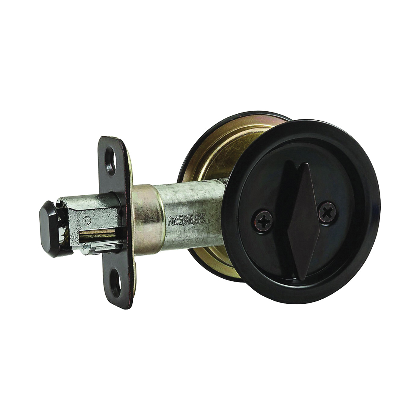 Picture of National Hardware V1954 Series N350-355 Door Latch, Pocket Latch, Steel, Oil-Rubbed Bronze