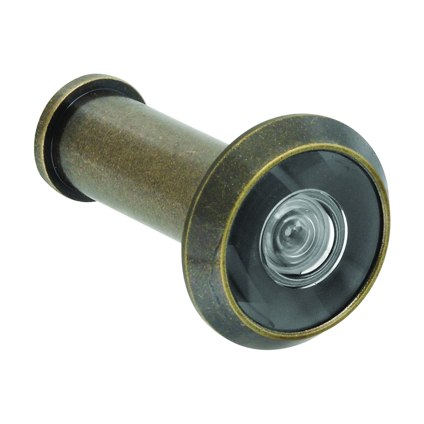 Picture of National Hardware V805 Series N336-107 Door Viewer, 200 deg Viewing, 1-3/8 to 2 in Thick Door, Brass, Antique Brass